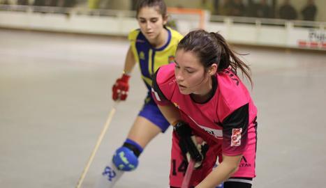 Victòria Porta, en un partit recent del Vila-sana.