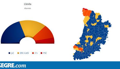 La circumscripció de Lleida, encapçalada per JuntsxCat