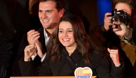 """Arrimadas: """"La victòria mostra que la majoria social està a favor de la unió"""""""