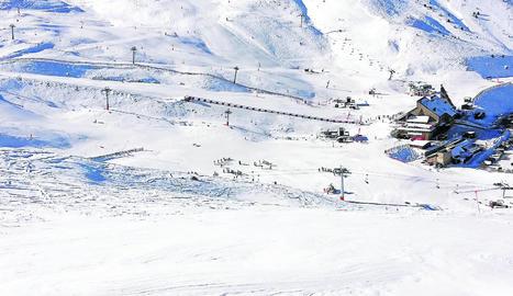 Las pistas de Boí-Taüll preparadas para recibir un alud de visitantes a partir del día 27.