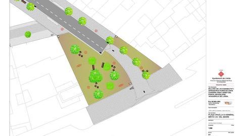Noves places elevades amb espais verds - La creació i l'habilitació de tres noves places és un dels plats forts d'aquesta reforma urbanística de Noguerola, que té per objectiu donar més protagonisme al vianant en detriment dels vehicles.  ...
