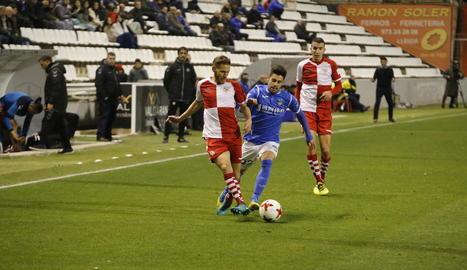 El Lleida Esportiu va tancar l'any amb un empat sense gols al Camp d'Esports davant del Sabadell.