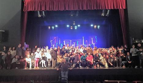 Talma celebra el Nadal al Teatre Foment de Juneda