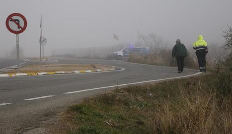 Els Mossos investigaven el que va passar diumenge al migdia a la C-12 al seu pas per Llardecans.