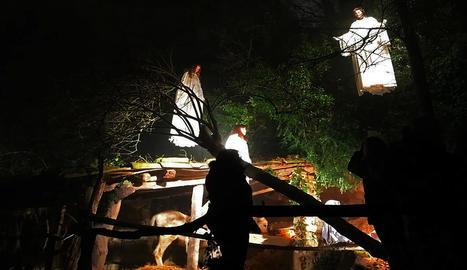 El pessebre vivent dels Magraners és considerat el segon més antic de Catalunya.