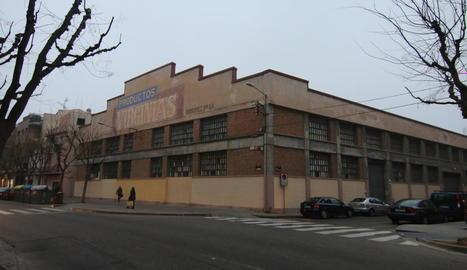 La fàbrica de galetes Virginias, al barri de Pardinyes.