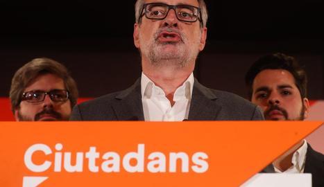El secretari general del partit taronja, José Manuel Villegas.