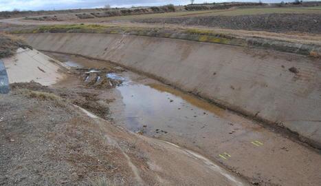 L'accident va tenir lloc en aquest punt del canal auxiliar d'Urgell, al terme de Vila-sana.
