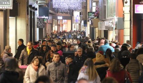 L'Eix Comercial de Lleida.
