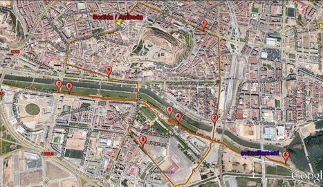 Talls a Lleida per la cursa Sant Silvestre