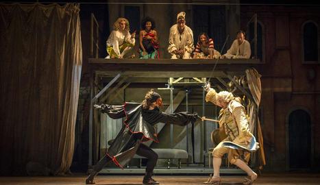 Estrena del musical 'Scaramouche'