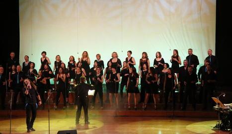 La formació lleidatana en un dels seus concerts.