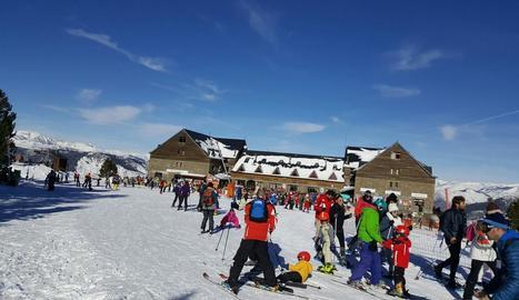 Més de 2.200 persones es van decantar per l'estació d'Espot.