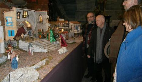 El diorama que reprodueix el claustre de la Seu Vella pot veure's fins diumenge al Peu del Romeu.