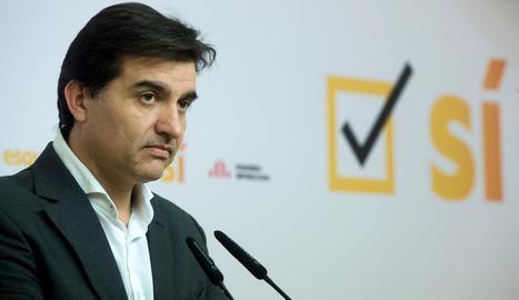 Jordi Sabrià no dóna per fet que Oriol Junqueras surti de presó demà dijous.