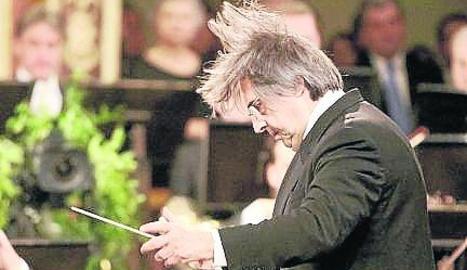 Muti, al concert de Cap d'Any.