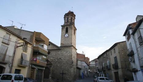 L'església de Sant Jaume de la Granja d'Escarp, que tornarà a acollir misses aquest diumenge.