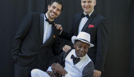 El trio Rat Pack Tribut actuarà el dia 17 a l'Auditori de Lleida.