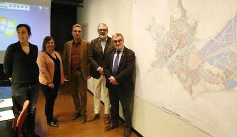La Paeria planifica el creixement de la ciutat dels pròxims quinze anys.