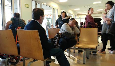 Imatge de la sala d'urgències de l'Hospital Arnau de Vilanova aquesta setmana.
