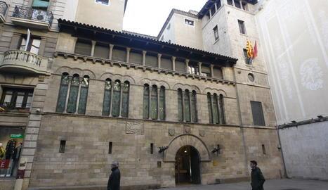 La façana del Palau de la Paeria.