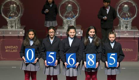 El número 05.685, primer premi d'El Nen'