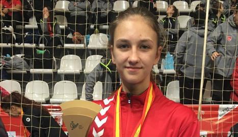 Katy Tyaglyay es proclama campiona d'Espanya d'handbol