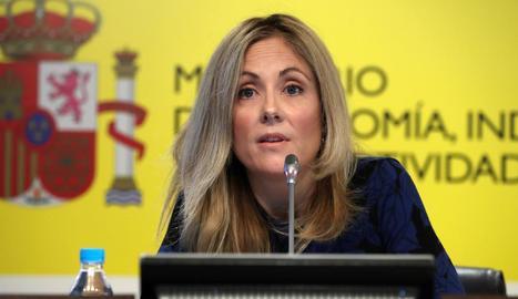 La secretària general del Tresor i Política Financera, Emma Navarro.
