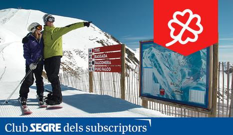 Esquiadors a l'estació de Boí Taüll