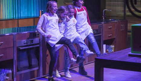 Els finalistes d'aquesta edició del concurs de petits cuiners.
