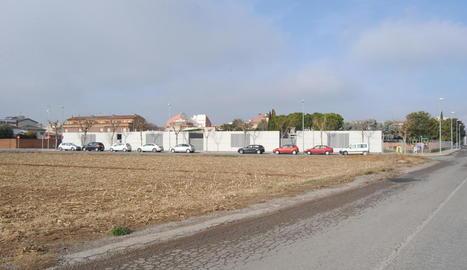 El nou centre es preveu construir a prop del col·legi Les Arrels.