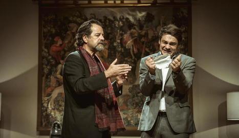 'L'electe', amb Abel Folk i Roger Coma, dissabte a l'Escorxador.