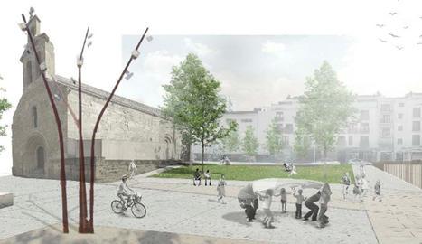 Imatge virtual de la nova plaça de la Panera