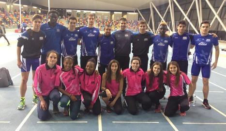 Els dos equips amb què va competir el Lleida UA.