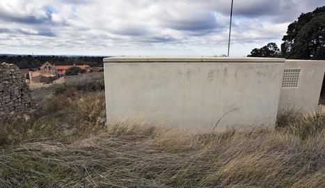 L'antena s'instal·larà sobre el dipòsit de Cabestany.