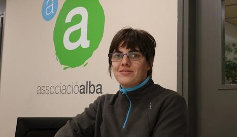 Verònica Torra, esportista de l'Associació Alba de Tàrrega.