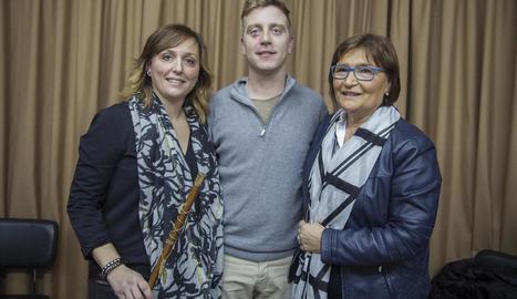 Miró, Vidal i Mora, ahir al ple que es va celebrar a Anglesola.
