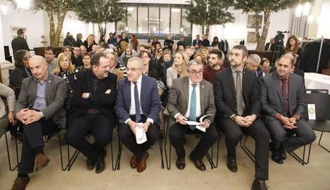 La presentació de la Fira de l'Oli a Lleida.