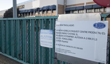 Les noves instal·lacions es troben al polígon industrial de Fonolleres.