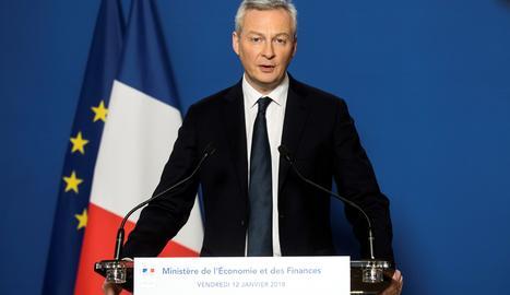 El ministre francès d'Economia i Finances, Bruno Le Maire