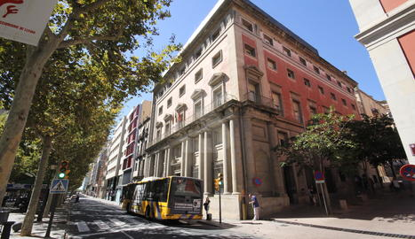 L'antiga Audiència, futura seu del Museu d'Art de Lleida.