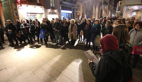 Protesta contra la violència masclista