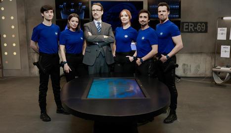 Els actors protagonistes d'aquesta sèrie de comèdia.