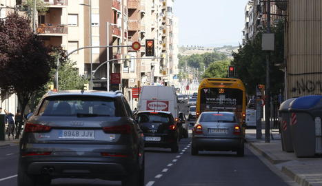 El local afectat està situat al carrer Príncep de Viana.