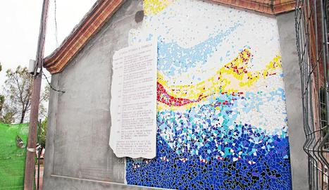 El mural s'inaugurarà el dia 8 d'abril.