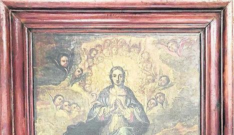La pintura de la Immaculada segueix al Museu de Lleida.