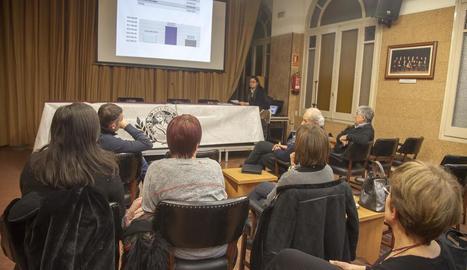 L'entitat compta amb 150 associats però ahir tot just deu van assistir a la reunió.