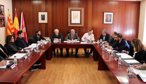 La sessió plenària del Conselh Generau celebrada ahir.