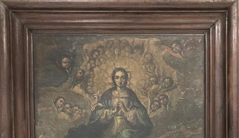 L'oli de la Immaculada, del XVIII, segueix al Museu de Lleida.