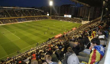 El maig del 2013 es va disputar la final Barça-Espanyol de la Copa Catalunya en un Camp d'Esports ple.